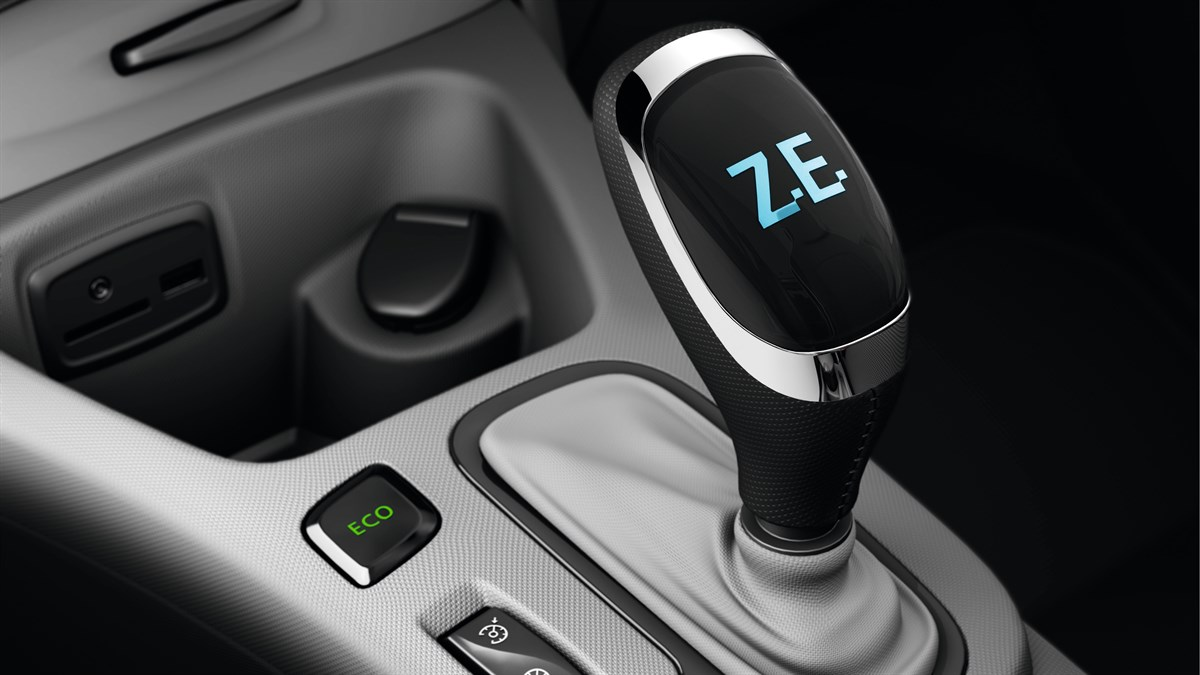 Renault ZOE automatic gearbox design