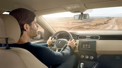 Renault DUSTER - Interior view of vehicle
