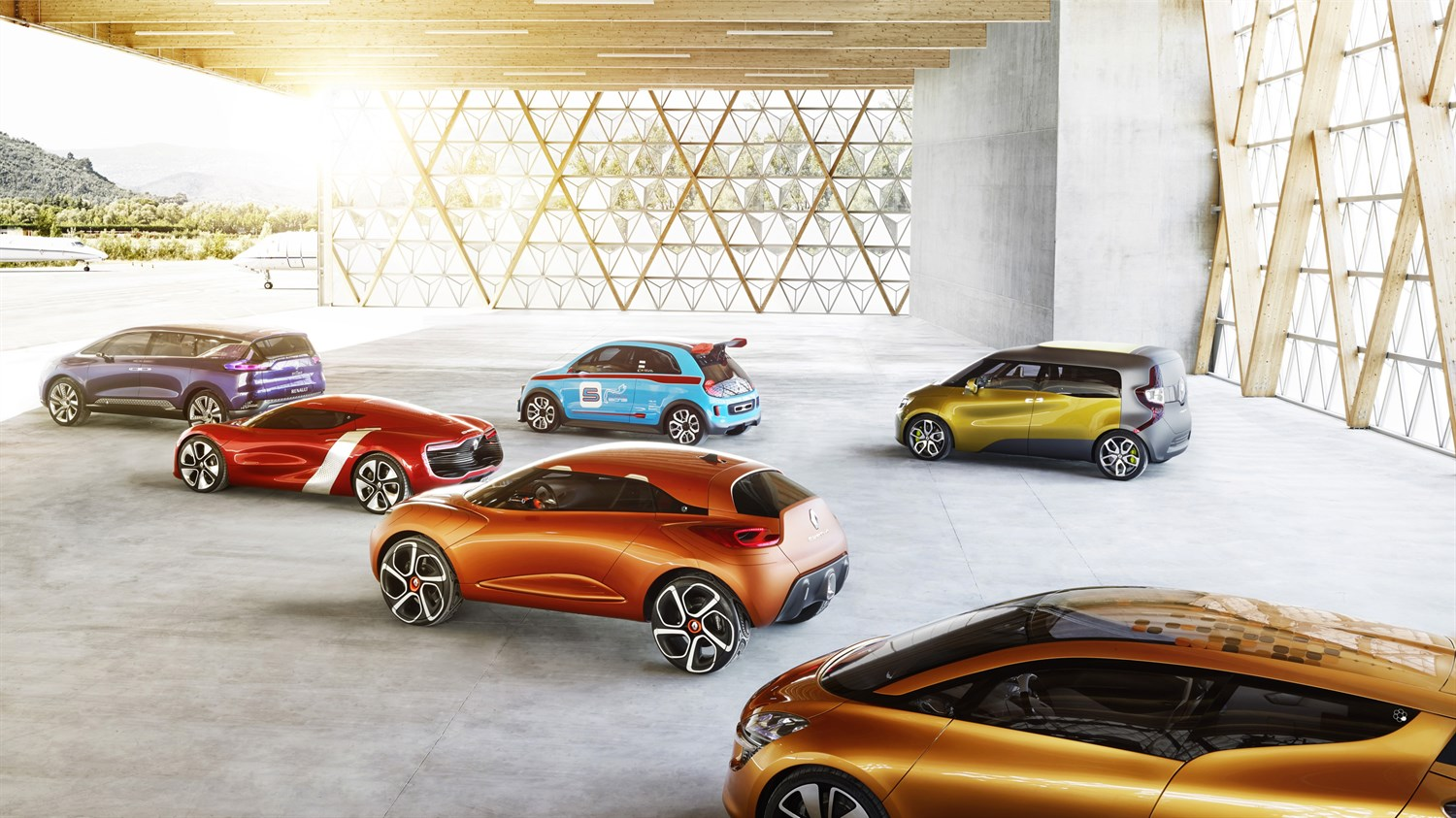 Renault Concept cars Overview