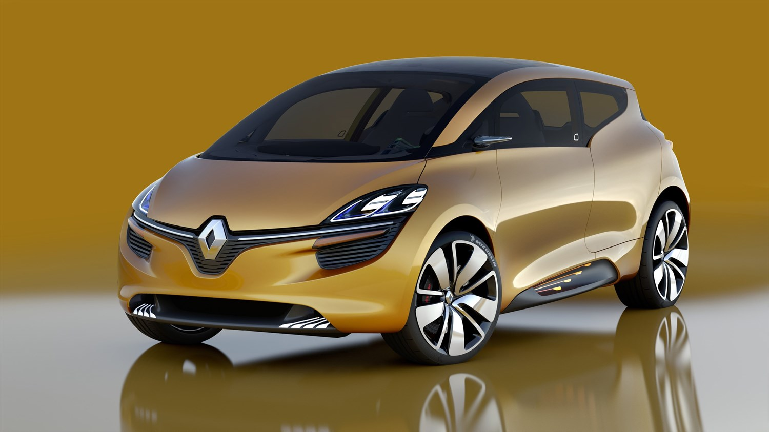 Renault R-Space concept car exterior design front side view
