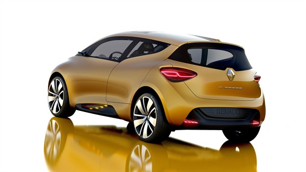 Renault R-Space concept car exterior design back side view