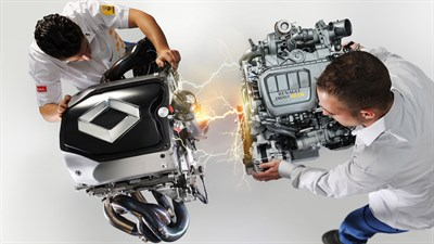 Renault engines for Formula 1