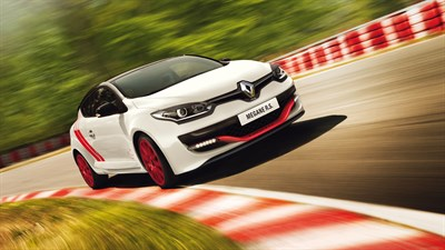 Renault MEGANE R.S. performance on the track