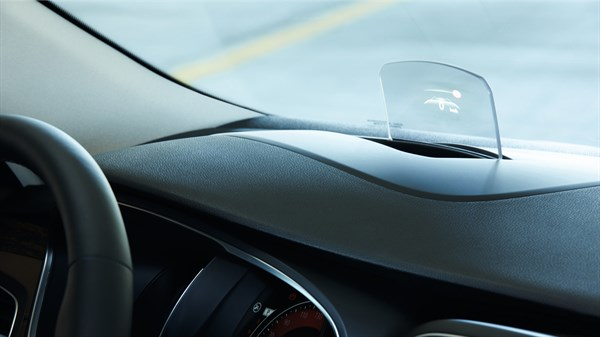 Renault Head-Up display technology