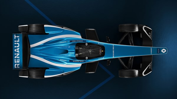 A Renault Formula E overview picture