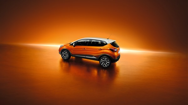 Renault CAPTUR dynamic design