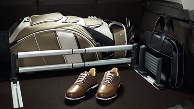 Renault interior fittings like nets, grilles and compartments designed to optimise storage space