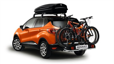 Renault CAPTUR roof bars & bicycle rack